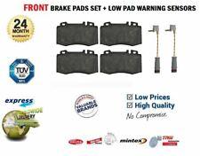 FRONT BRAKE PADS + SENSORS for MERCEDES E-CLASS E220 CDI 2002-2008