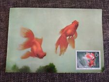 China gold fish goldfish unused CM as on the  photos (2)