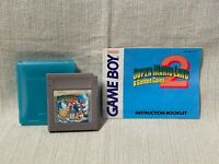 Super Mario Land 2 Nintendo Gameboy Game Cartridge Manual Authentic & Working