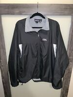 PATAGONIA Men's Full Zip Windbreaker Fleece Lined Black Size XL