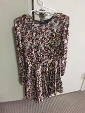 H&M Vintage Style Funky Skater Dress BRAND NEW Size 6