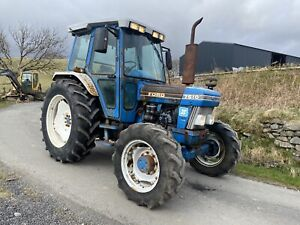 Ford 7610 4wd Super Q Tractor