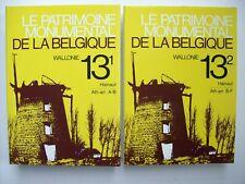 histoire Hainaut archéologie architecture Wallonie Mardaga Ath 2 volumes parfait