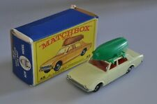 L637 Matchbox Moko/RW #45 Ford Corsair with Boat A/a