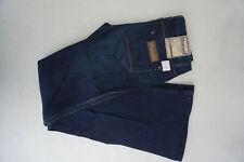 WRANGLER Betty Damen regular waist bootcut stretch Hose W28 L34 blau NEU #C21