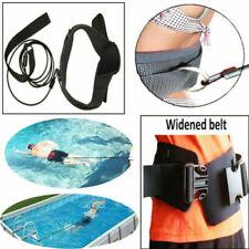 Resistencia de Entrenamiento de natación 2.0M Cinturón Arnés de Pool de correa de sujeción de bungee Látex