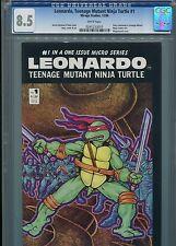 Leonardo, Teenage Mutant Ninja Turtle #1  CGC 8.5 WP