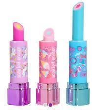 COMPLETE SET! 3 SMIGGLE Novelty SCENTED, SHIMMER Lipstick Erasers Rubbers