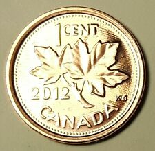 2011 Uncirculated Canadian Penny $0.01 from a MINT ROLL RCM Mint Mark Magnetic