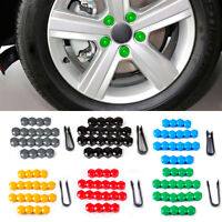20xWheel Lug Nut Center Cover Caps + Removal Tool Fit for VW Golf Passat Audi A4