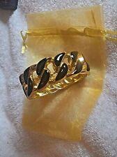 Gold Bracelet Rich Black &