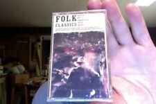 Folk Classics: Roots of American Folk Music- various- Seeger/Ives- new cassette