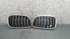 1Y39076 BMW E53 X5 Grill Frontgrill Ziergitter Chrom R L 7124816 7124815