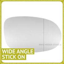 Right hand Driver side for Fiat Bravo II 07-14 wing mirror glass Wide Angle