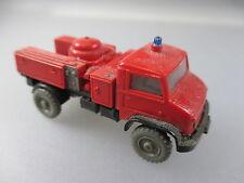 Wiking:Unimog Pulverlöschfahrzeug, Feuerwehr  (2W)
