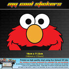 Elmo Peeping Vinyl Sticker Decal, 4X4 Ute Car Window funny peeking