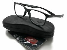 abd20591701932 Ray Ban Carbon Fibre Rx8903 5263 Matte Black   Demo Lens 55mm Eyeglasses