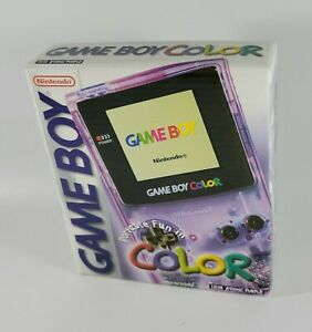 Nintendo Game Boy Color Console (Atomic Purple) ~ Brand New in Sealed Box!