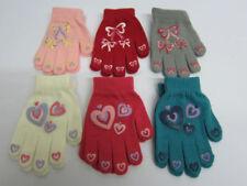 Gants et moufles multicolores en acrylique pour fille de 2 à 16 ans