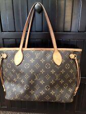 Louis Vuitton Neverfull PM Tote Bag Monogram Shopping Purse