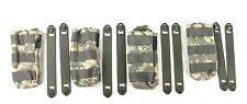 Blackhawk! UCP MOLLE Single M4 Mag Pouch Shingle MOLLE ACU w/2 Speed Clips Lot 4