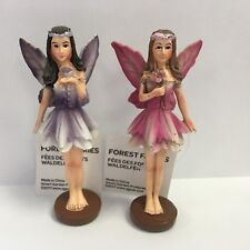 Smart Garden 2 Small Magnetic Woodland Flower Forest Fairy Fairies Figurines
