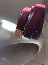 Cintura uomo belt Cartier vintage In Pelle