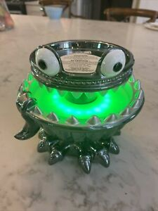 Bath & Body works Monster Light Up NWT pedestal 3wick candle NWT Fountain Holder