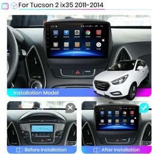 "Autoradio 9"" Android Hyundai ix35 1 2 Tucson 2 LM 2011-2014 BT Navi Gps Wi-fi"