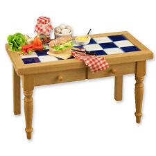 Reutter Porzellan Table De Cuisine Sandwich Time Tuile Maison Poupée 1:12