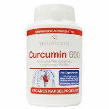 Netzeband Curcumin 600-100 vegane Kapseln indischer Kurkuma Extrakt hochdosiert