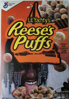 Lil Yachty Reeses Puffs Cereal LIMITED EDITION General Mills - FAST SHIP