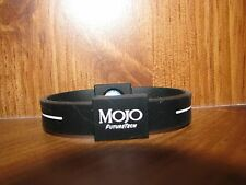"7"" Mojo Holographic Wristband BLACK / WHITE"