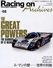 [BOOK] Racing on Archives vol.02 Le Mans Porsche 917 RS Audi R10 R8 Peugeot 908