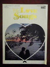 The New Book of Golden Love Songs Sheet Music Piano Chords Vocal Guitar