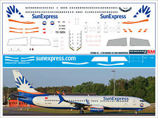 1/144 PAS-DECALS. ZVEZDA. Revell Boeing 737-800 SUNEXPRESS
