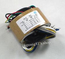 115V/230V 30W Audio R-Core Transformer 15V+15V 6V+6V / 15V*2 6V*2 para Preamp