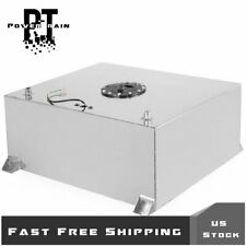 80L/20 Gallon Polished Aluminum Race Drift Fuel Cell Tank Level Sender