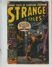 "Strange Tales 6 G- (1.8) 4/52 Atlas! Heath Cover ""The Ugly Man"""