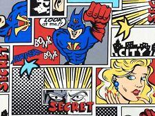 Tessuto Tela Olona Fantasia Supereroe Fumetti mt. 0.50 x 2.80 - Sailcloth Fabric