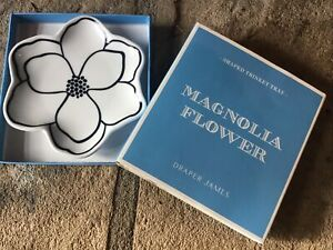 DRAPER JAMES Reese Witherspoon Magnolia Flower Shaped Trinket Tray NIB