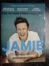 THE SUNDAY TIMES MAGAZINE NEW JAMIE OLIVER COVER FOOD & DRINK SPECIAL ERSKINE