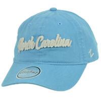 NCAA Zephyr North Carolina Tar Heels Blue Relaxed Hat Cap Sun Buckle Slouch