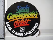 Aufkleber Sticker SACHS Commander Orbit -  Fichtel und Sachs - 12 Gang (1250)