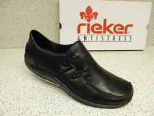 rieker ®  bisher  49,95 €  Leder Schuhe  + gratis Premium - Socken (R385)