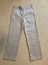 Vineyard Vines Classic Fit Club Pants Boys Sz 16 Khaki Tan Brown