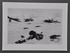 Robert Capa Limited Ed. Photo Heliogravure 40x30cm Omaha Beach D-Day June 6 1944