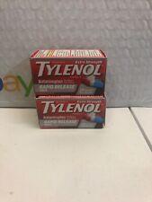 2 Tylenol Acetaminophen Rapid Release Gelcaps 24 Ct