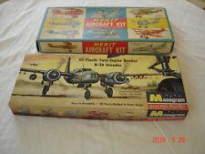 Anciennes Boites de Maquettes d'Avions - Elles ne sont pas Garanties Complètes