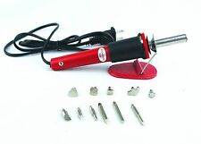 LEMO Soldering Iron with 6 Precision Tips Solder 220V/30W Hand Tool Kit